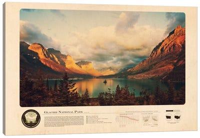 Glacier National Park Canvas Art Print