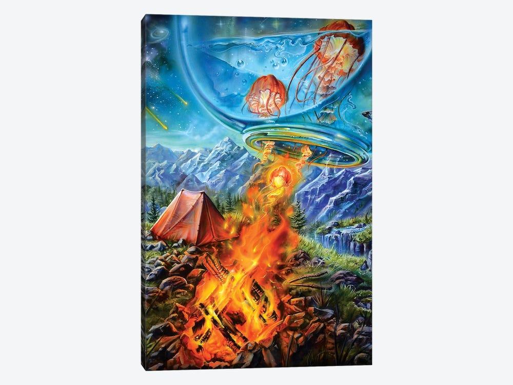 Camping Trip by Derek Turcotte 1-piece Canvas Art