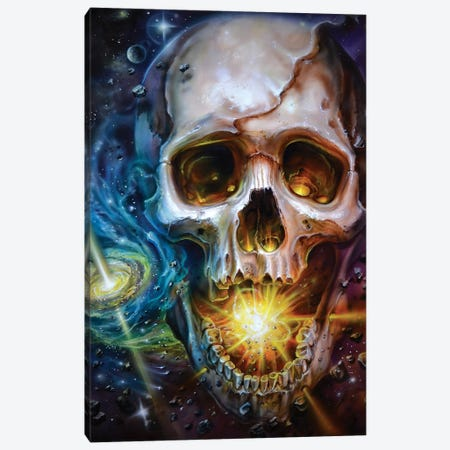 Cosmic Ending Canvas Print #DET13} by Derek Turcotte Canvas Art