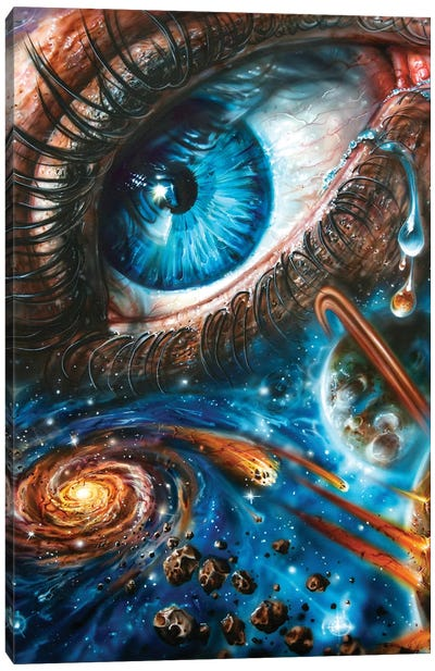 Eye Cosmos 2.0 Canvas Art Print