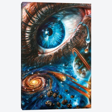 Eye Cosmos 2.0 Canvas Print #DET20} by Derek Turcotte Canvas Art Print