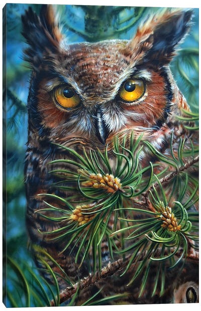Great Horn Canvas Art Print