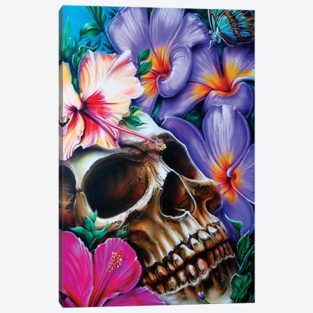 Life And Death Canvas Print #DET31} by Derek Turcotte Canvas Wall Art
