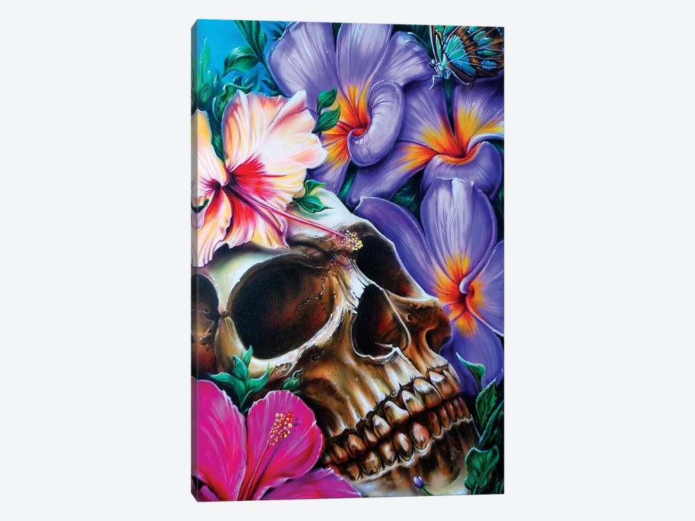 Life And Death by Derek Turcotte 1-piece Canvas Print