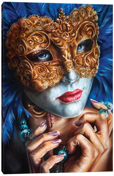 Masquerade  Canvas Art Print