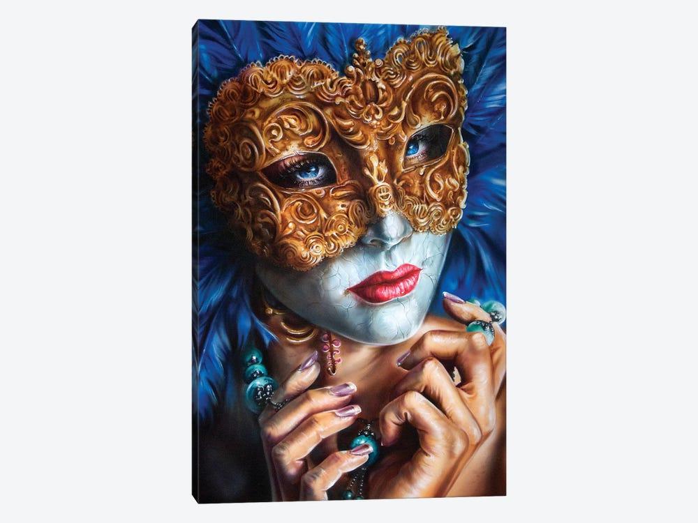 Masquerade  by Derek Turcotte 1-piece Canvas Art