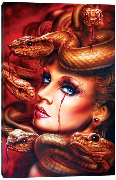Medusa Canvas Art Print