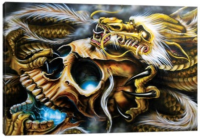 Quest Of The Golden Dragon Canvas Art Print
