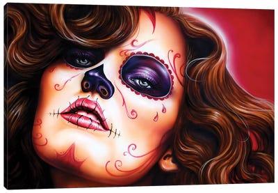 Skull Girls II Canvas Art Print