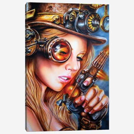 Steampunk Canvas Print #DET48} by Derek Turcotte Canvas Art Print