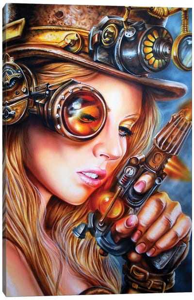 Steampunk Canvas Art Print