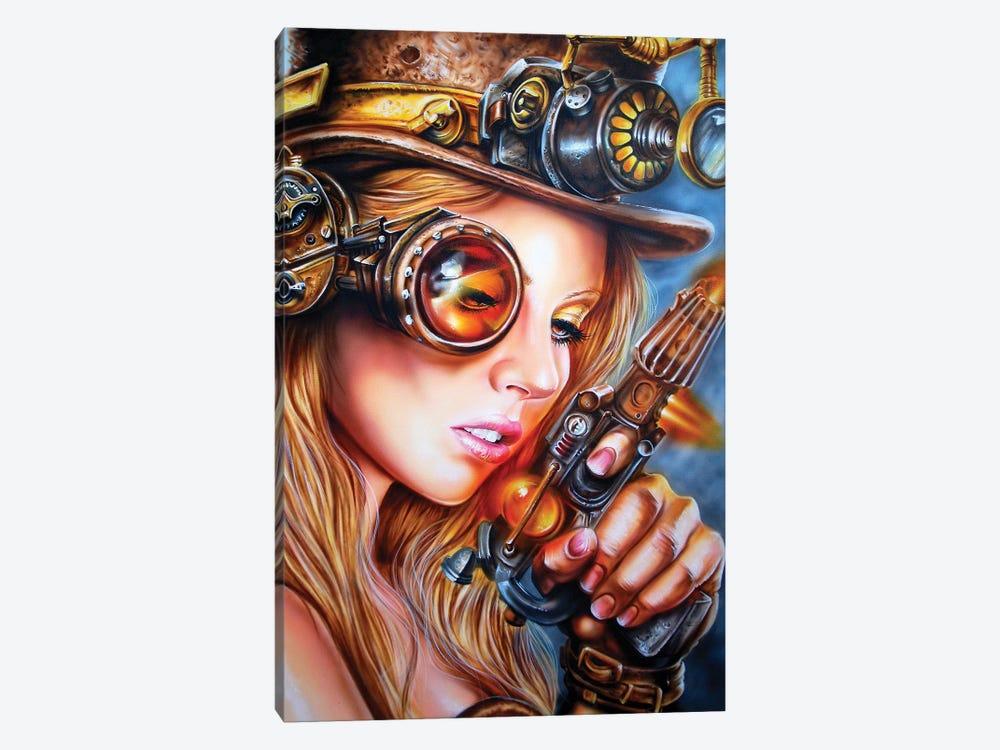 Steampunk by Derek Turcotte 1-piece Canvas Print
