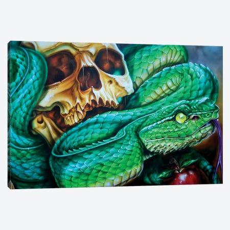 The Temptation 3-Piece Canvas #DET50} by Derek Turcotte Canvas Artwork