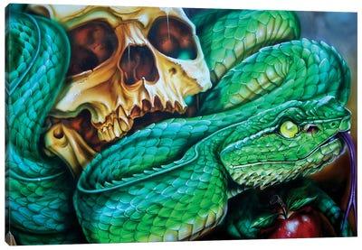 The Temptation Canvas Art Print