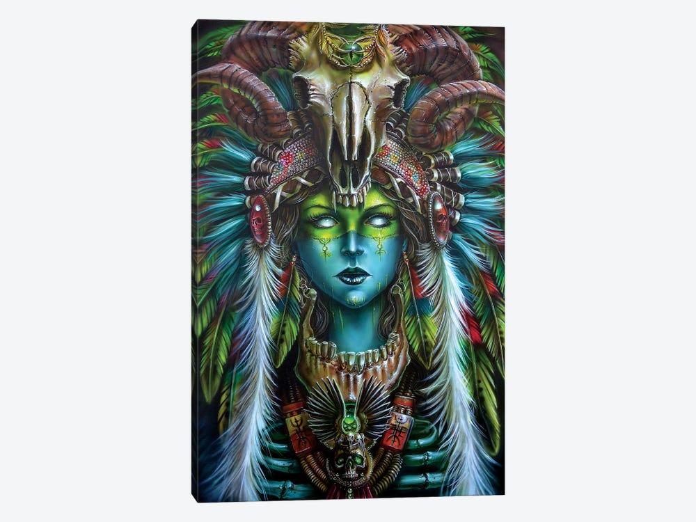 Voodoo Spirit Huntress by Derek Turcotte 1-piece Canvas Wall Art