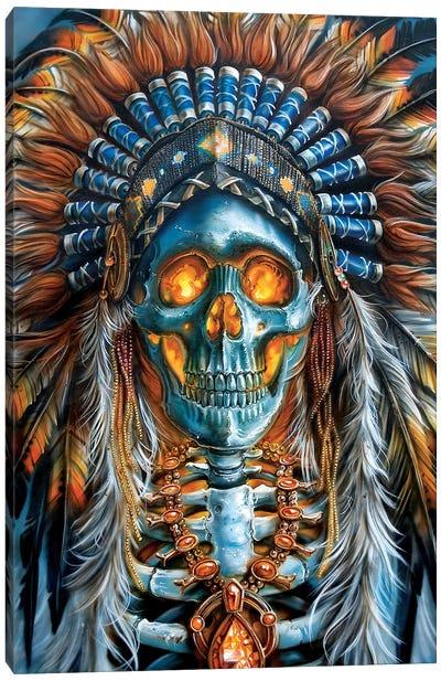Warrior Chief Canvas Art Print