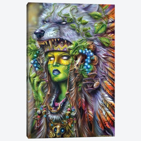 Forest Druid Canvas Print #DET60} by Derek Turcotte Art Print