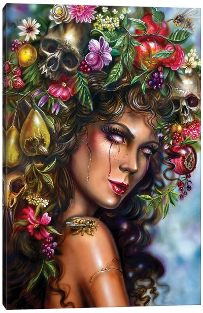 Fruit Girl - Aurumn Possession Canvas Art Print