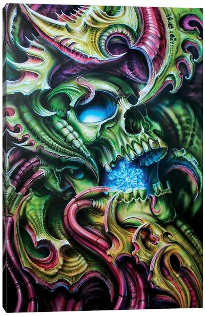 Bio Snowmachine Canvas Art Print