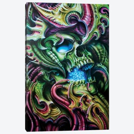 Bio Snowmachine Canvas Print #DET8} by Derek Turcotte Canvas Artwork