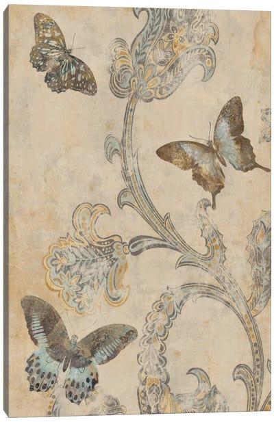 Papillion Decoratif I Canvas Art Print
