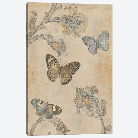 Papillion Decoratif II Canvas Print #DEV22} by Deborah Devellier Canvas Print