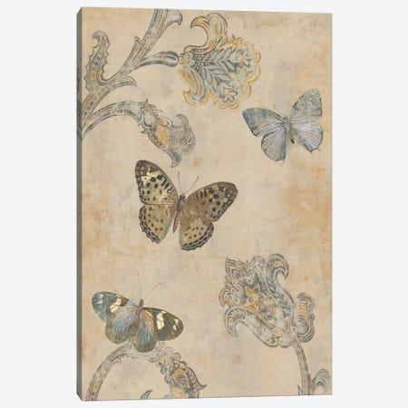 Papillion Decoratif II Canvas Print #DEV22} by Deborah Devellier Canvas Print