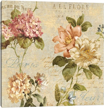 Fleur Paris I Canvas Art Print