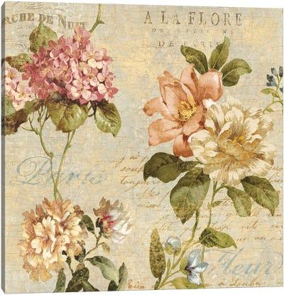 Fleur Paris I Canvas Art Print