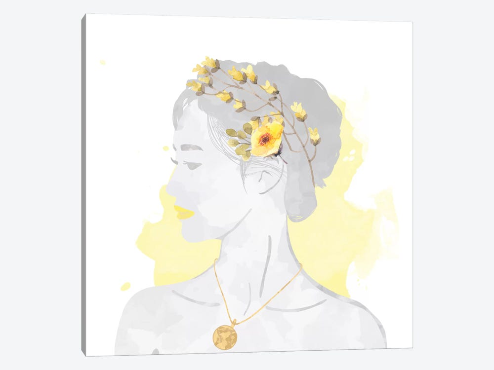 Blissful Goddess by 5by5collective 1-piece Art Print