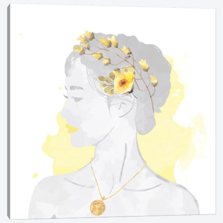 Blissful Goddess Canvas Print #DFC3} by 5by5collective Canvas Art Print