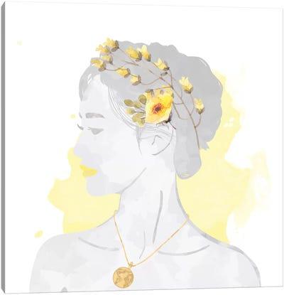 Blissful Goddess Canvas Art Print