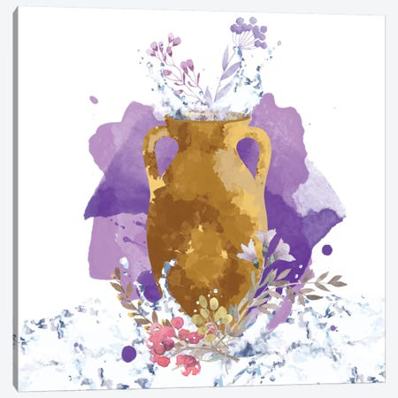 Golden Reflections Canvas Print #DFC5} by 5by5collective Canvas Art