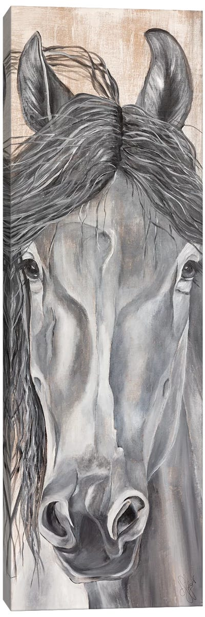 'Neigh'tural Beauty Canvas Art Print