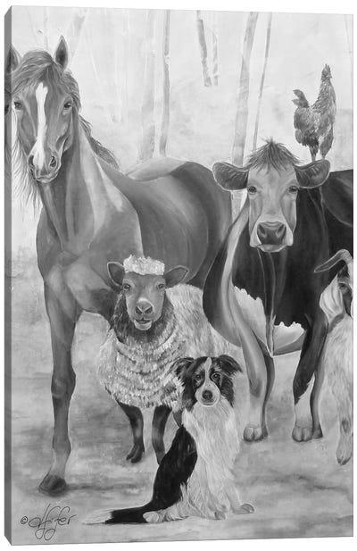 The Gang Canvas Art Print