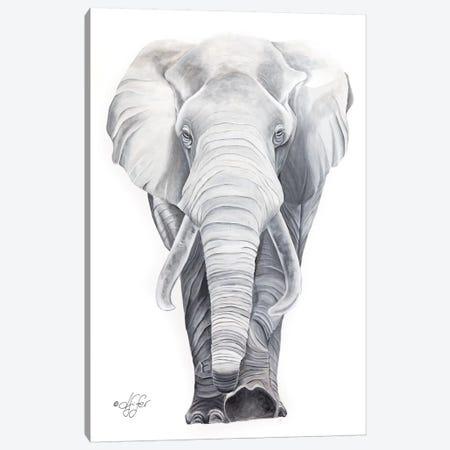 What Big Ears I Have Canvas Print #DFI18} by Diane Fifer Canvas Art Print