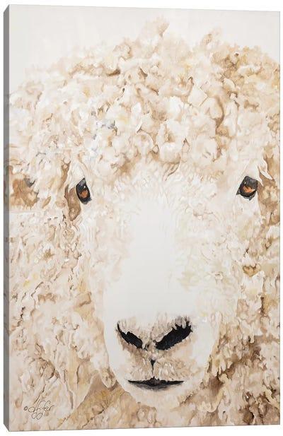 Woolly Canvas Art Print