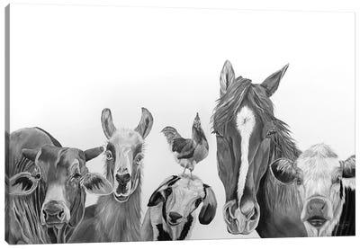 Farm Crew Canvas Art Print