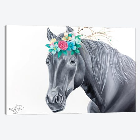 It's 'Mane'ly Me Canvas Print #DFI7} by Diane Fifer Canvas Wall Art