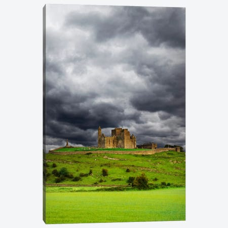 Rock Of Cashel (St. Patrick's Rock), Cashel, County Tipperary, Munster Province, Republic Of Ireland Canvas Print #DFL2} by Dennis Flaherty Canvas Artwork