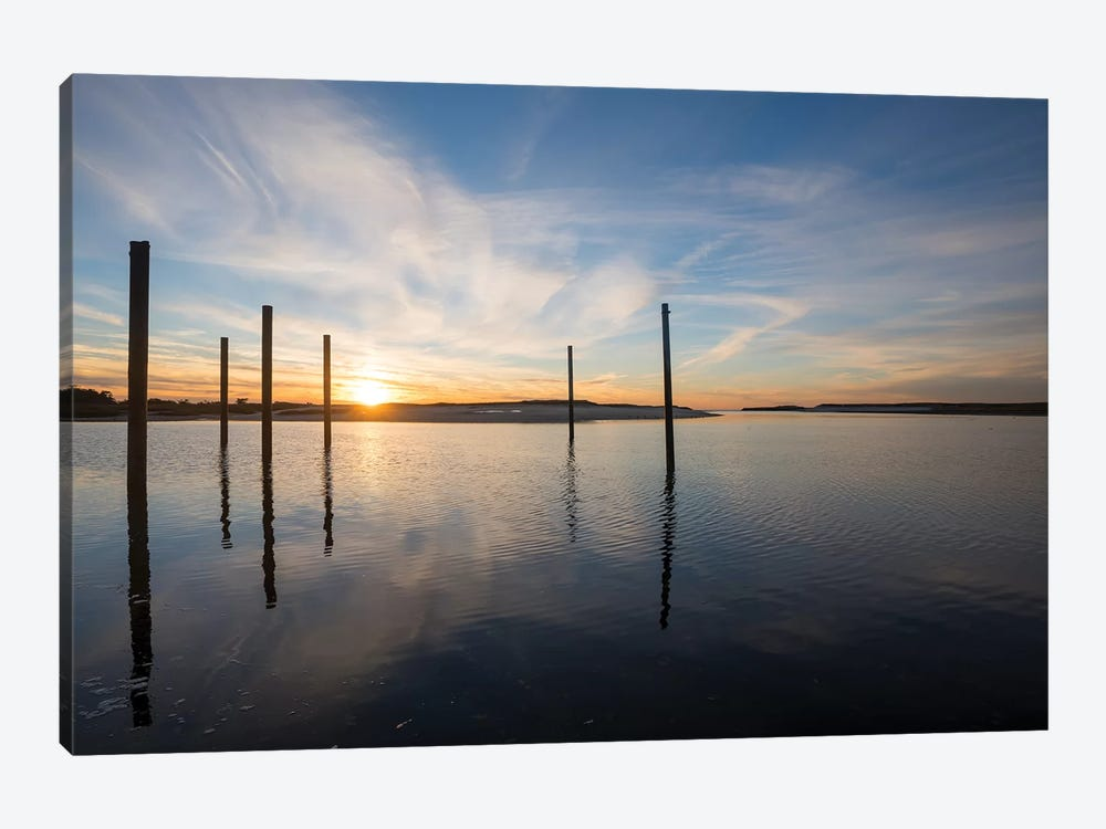 Bay at Sunset by Doug Foulke 1-piece Canvas Art Print