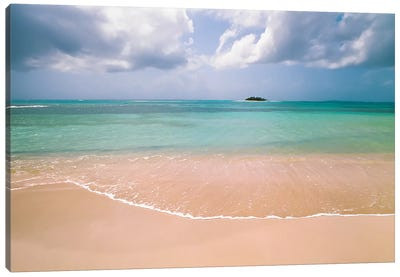 Clear Beach Canvas Art Print