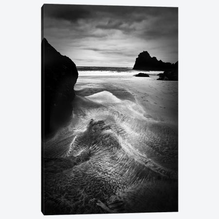 Dark Cove Canvas Print #DFU10} by Dorit Fuhg Art Print