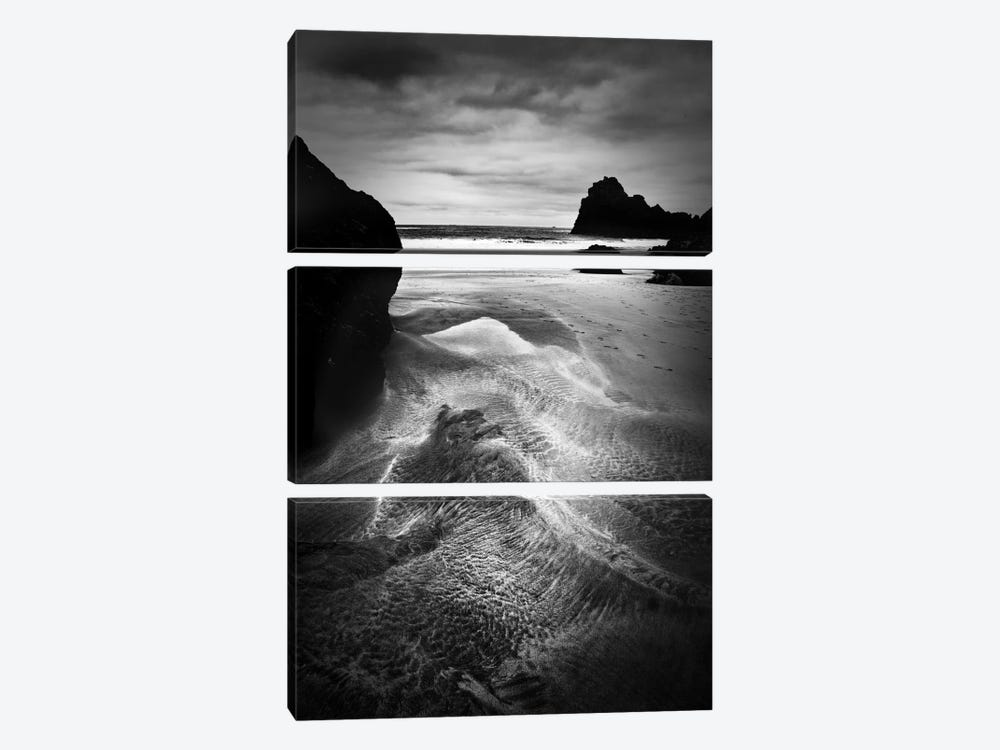 Dark Cove by Dorit Fuhg 3-piece Art Print