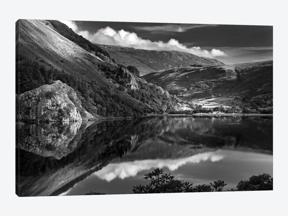 Llyn Gwynant I, Snowdonia, Wales, United Kingdom by Dorit Fuhg 1-piece Art Print