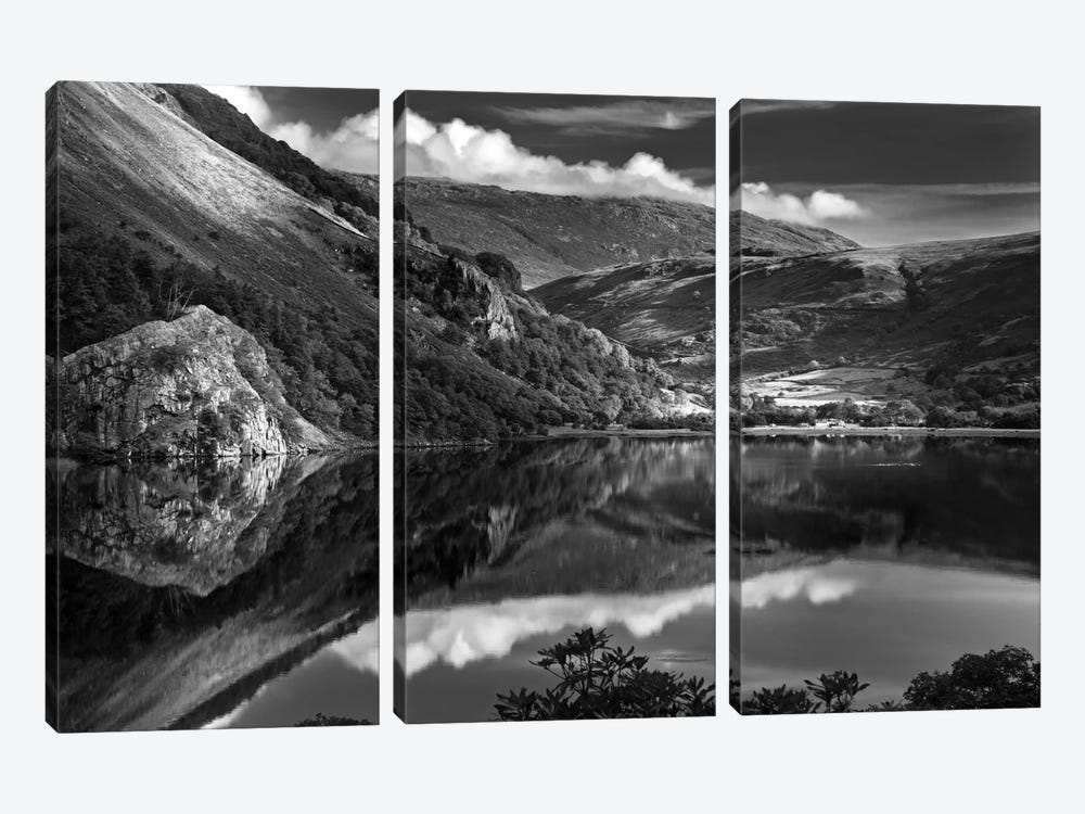 Llyn Gwynant I, Snowdonia, Wales, United Kingdom by Dorit Fuhg 3-piece Art Print