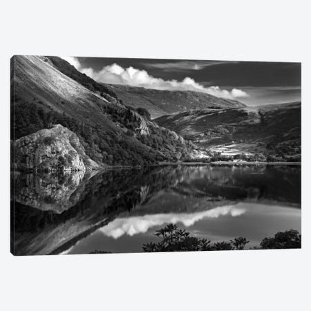 Llyn Gwynant I, Snowdonia, Wales, United Kingdom Canvas Print #DFU18} by Dorit Fuhg Canvas Art Print