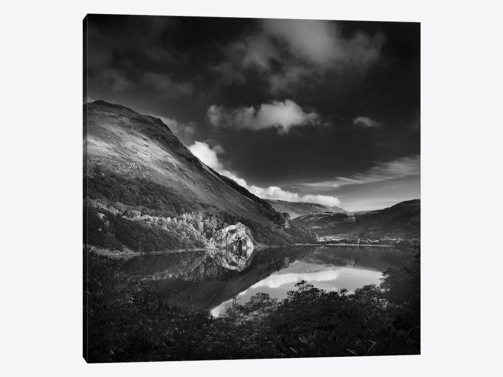 Llyn Gwynant II, Snowdonia, Wales, United Kingdom by Dorit Fuhg 1-piece Canvas Wall Art