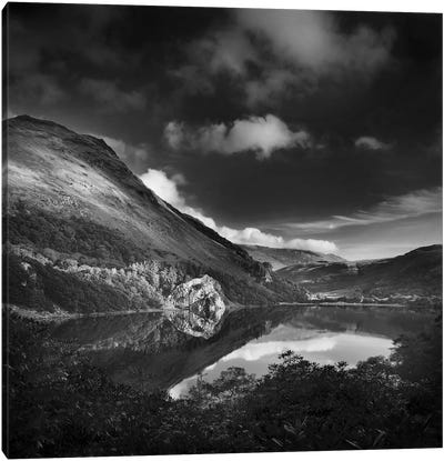 Llyn Gwynant II, Snowdonia, Wales, United Kingdom Canvas Art Print