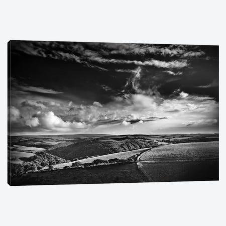 View Over Exmoor, Southwest Region, England, United Kingdom Canvas Print #DFU26} by Dorit Fuhg Canvas Print